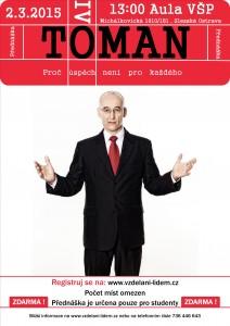 Ivo Toman - plakat