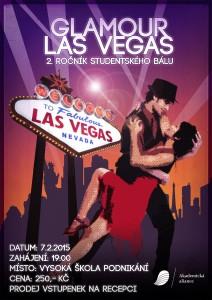 Studentský bál Glamour Las Vegas